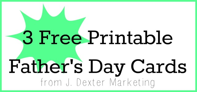printable fathers day